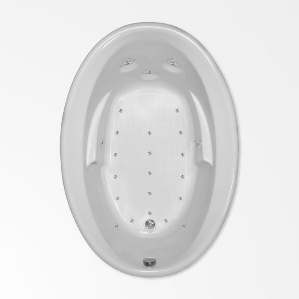 60 by 42 Air bath tub