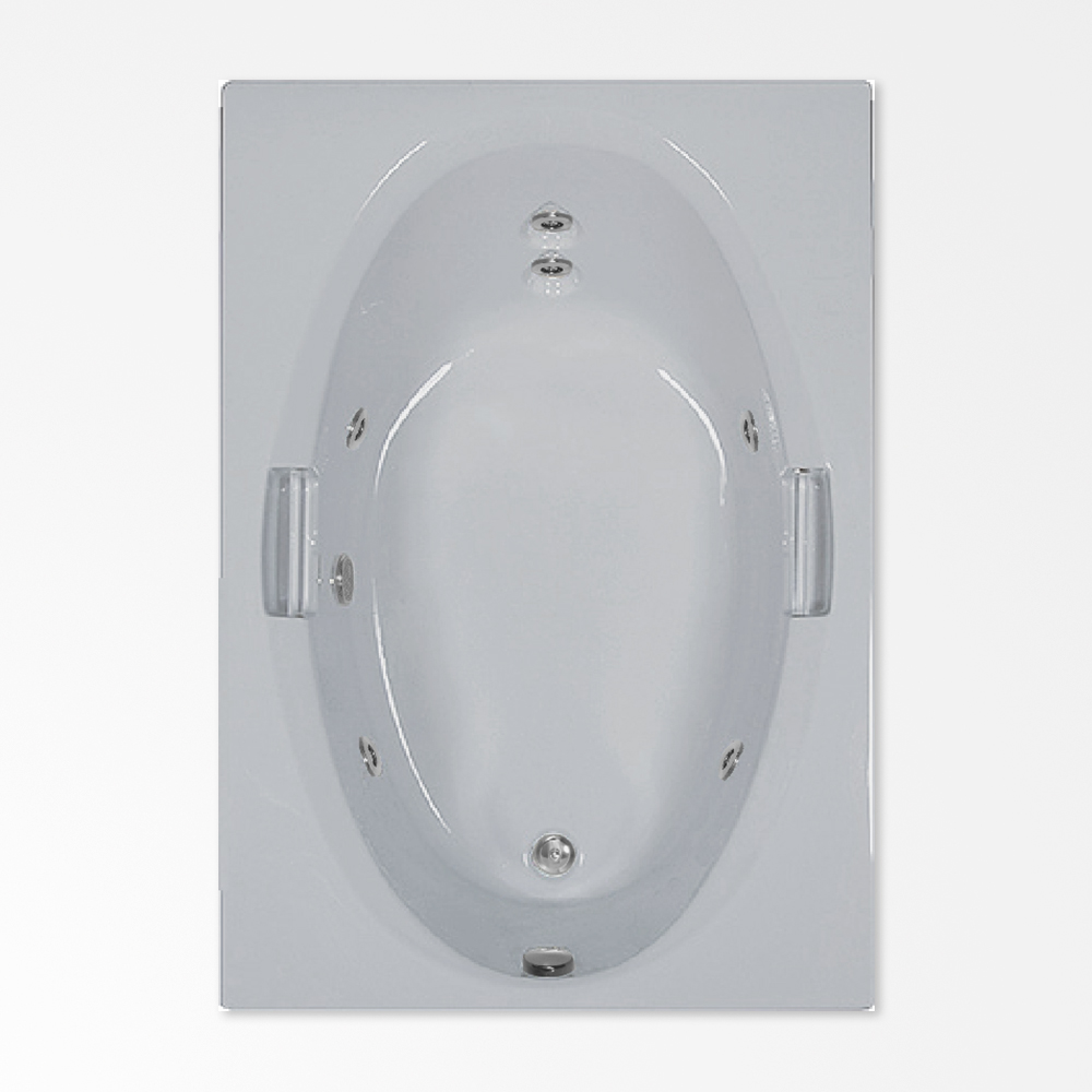 Whirlpool Bath 60×42 SP | ComfortFlo Acrylic WhirlpoolsComfortFlo ...