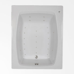 60 by 48 Air Bath / Air Jetted tub