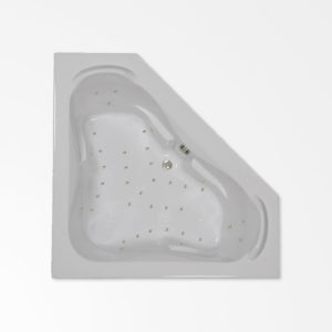 60 by 60 Corner Air bath / Air jetted tub