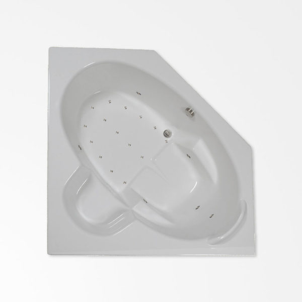 60 by 60 corner Air Bath / Air jetted bath tub