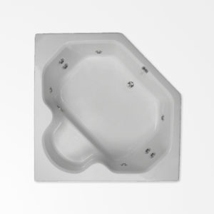 60 by 60 corner whirlpool bath tub