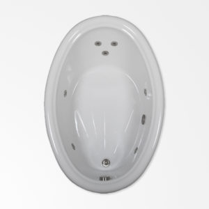 66 by 42 Whirlpool Bath Tub