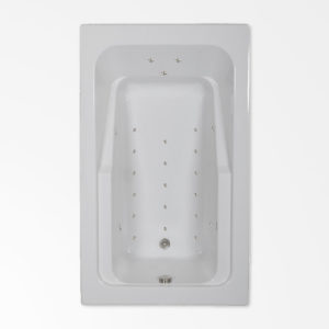 66 by 42 Air Bath / Air Jetted Tub