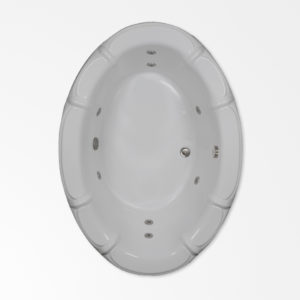 68 by 48 Whirlpool bath tub