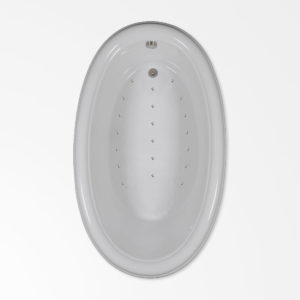 70 by 42 Air Bath / Air Jetted Tub
