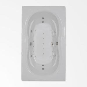 72 by 42 combo bath