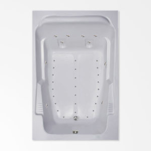 72 by 48 Air bath/ Air jetted Bath Tub