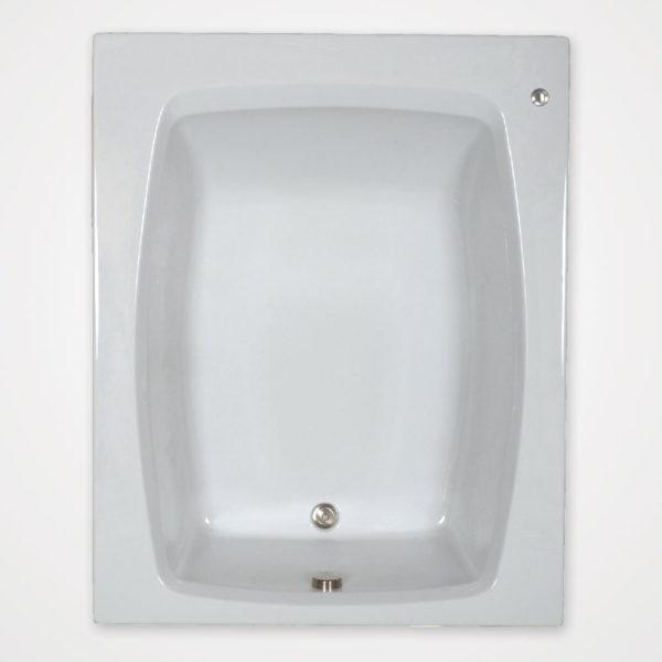 60 by 48 inch bathtub